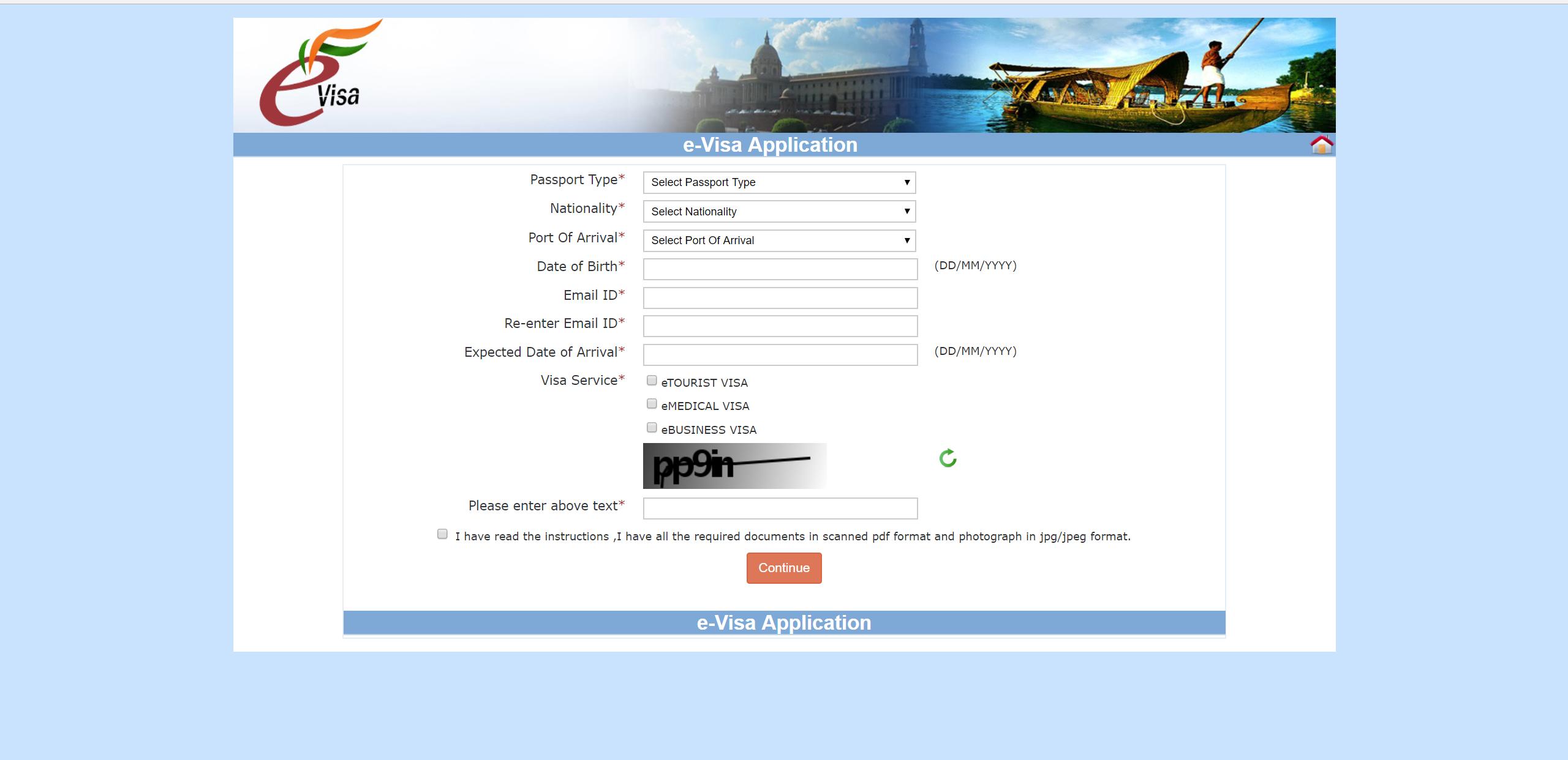 Как получить визу в Индию?
