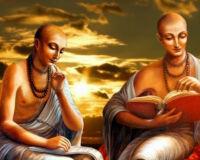 Встреча Рупы и Санатаны с господом Чайтаньей