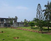 Первое торговое поселение англичан в Индии— Форт Анженго