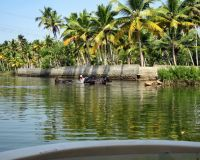 Путешествие по каналам и заводям Кералы
