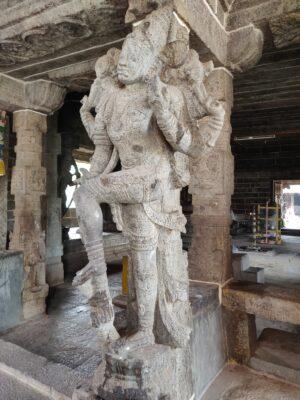 Храм Вишну в Индии