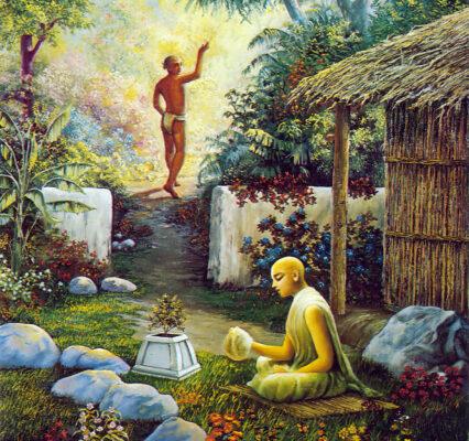 Харидас Тхакур - место медитации