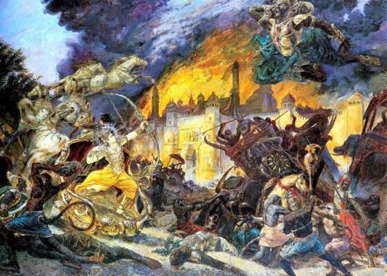 Битва армии Рамы с Раваной